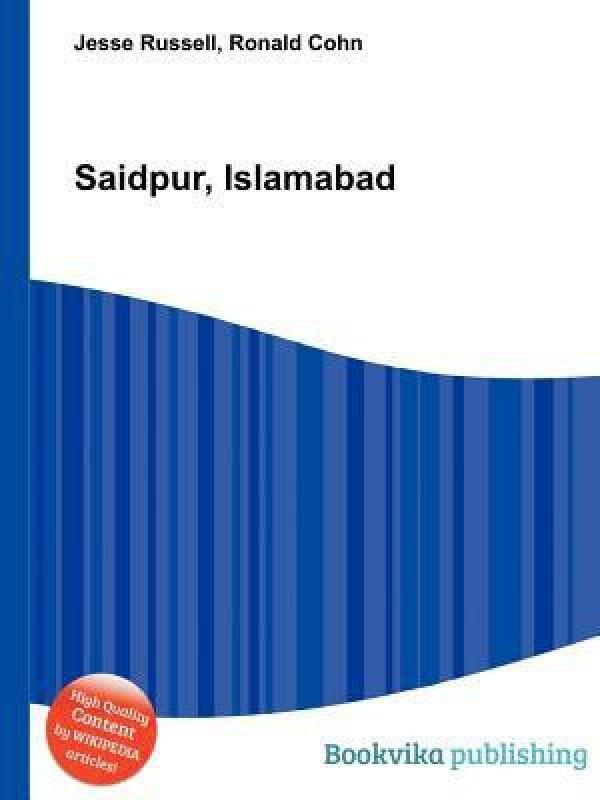 Saidpur, Islamabad(English, Paperback, unknown)