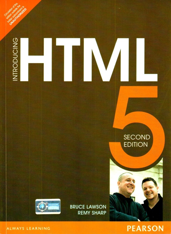 Introducing HTML5 2nd Edition(English, Paperback, Remy Sharp, Bruce Lawson)