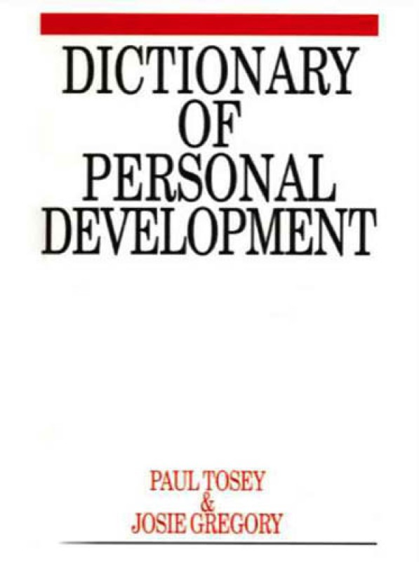Dictionary of Personal Development 01 Edition(English, Paperback, 216pp, Dictionary Of Personal Development 2005, Paperback)