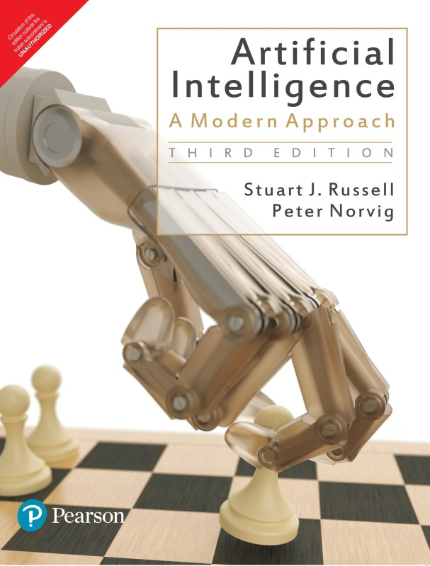 Artificial Intelligence : A Modern Approach 3rd Edition(English, Paperback, Norvig, Russell)