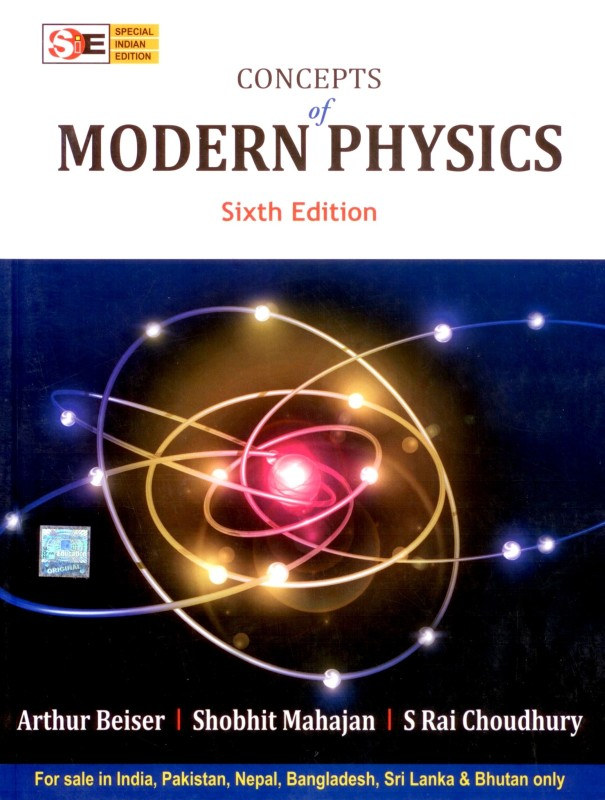 CONCEPT OF MODERN PHYSICS (SIE) 6th Edition(English, Paperback, Arthur Beiser,...