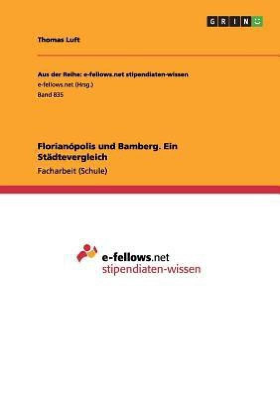Florianopolis und Bamberg. Ein Stadtevergleich(German, Paperback, Luft Thomas)