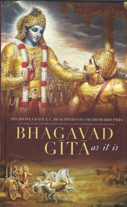 Bhagavad Gita As It Is(Hardcover, A. C. Bhaktivedanta Swami Prabhupada)