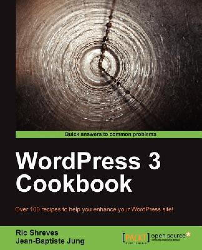 WordPress 3 Cookbook(English, Paperback, Shreves Ric)