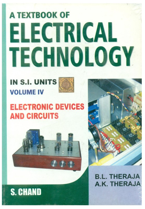 Textbook of Electrical Technology vol 4 (Multi Colour) 1st Multicolour...
