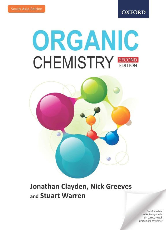 Organic Chemistry 2nd Edition(English, Paperback, Jonathan Clayden, Nick Greeves, Stuart...