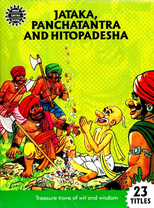 Jataka, Panchatantra And Hitopadesha Collection Set(English, Paperback, Amar Chitra Katha)