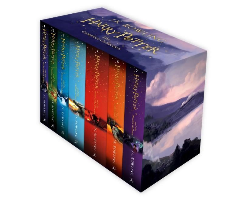 Harry Potter BoxSet 2014(English, Paperback, J K ROWLING)
