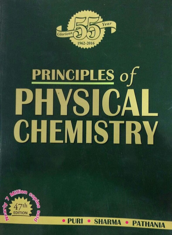 Principles of Physical Chemistry(ENGLISH, Paperback, B.R. Puri, L.R. Sharma, M.S....