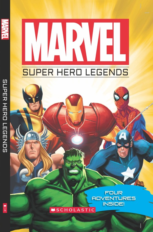 MARVEL: SUPERHERO LEGENDS(English, Paperback)
