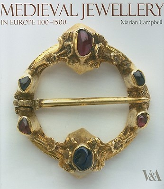 Medieval Jewellery(English, Hardcover, Campbell Marian)