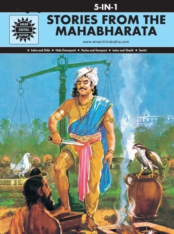 Stories From Mahabharata (5 in 1)(English, Hardcover, Anant Pai)