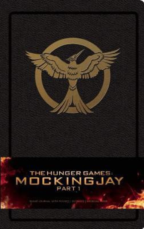 The Hunger Games: Mockingjay Part 1 Hardcover Ruled Journal (Large)(Book, Insight)