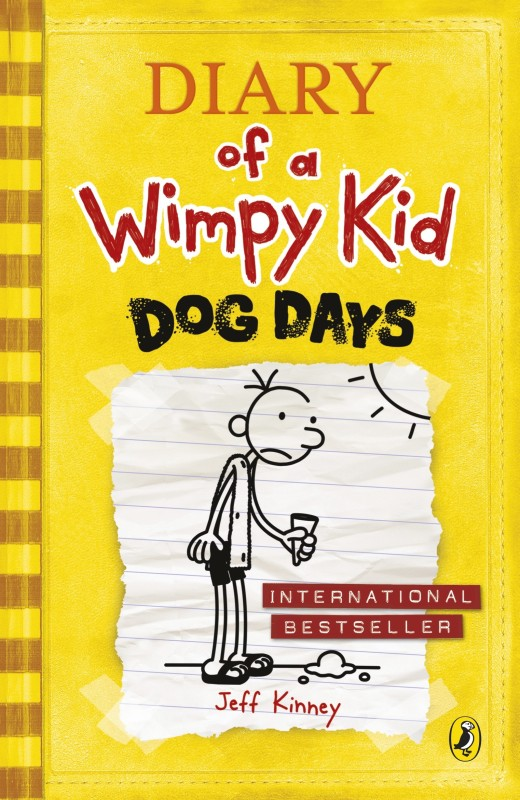 Diary of a Wimpy Kid Dog Days(English, Paperback, Jeff Kinney)