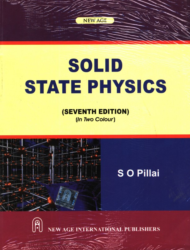 Solid State Physics PB(English, Pillai)