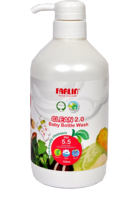 Farlin Natural Baby Liquid Cleanser 700 ML(White)