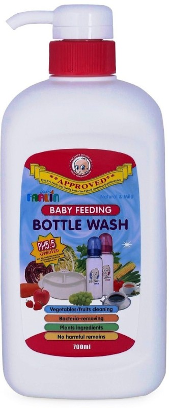 Farlin Feeding Bottle wash(Transperant)