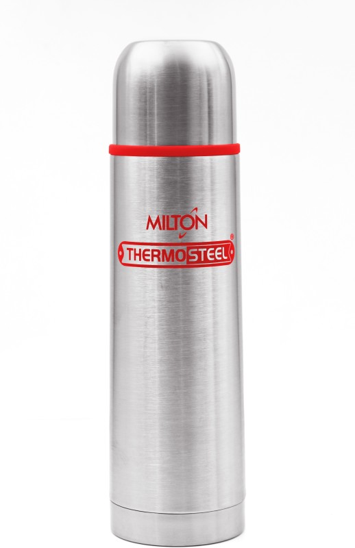 Milton Thermosteel Flip Lid 1000 ml Flask(Pack of 1, Red)