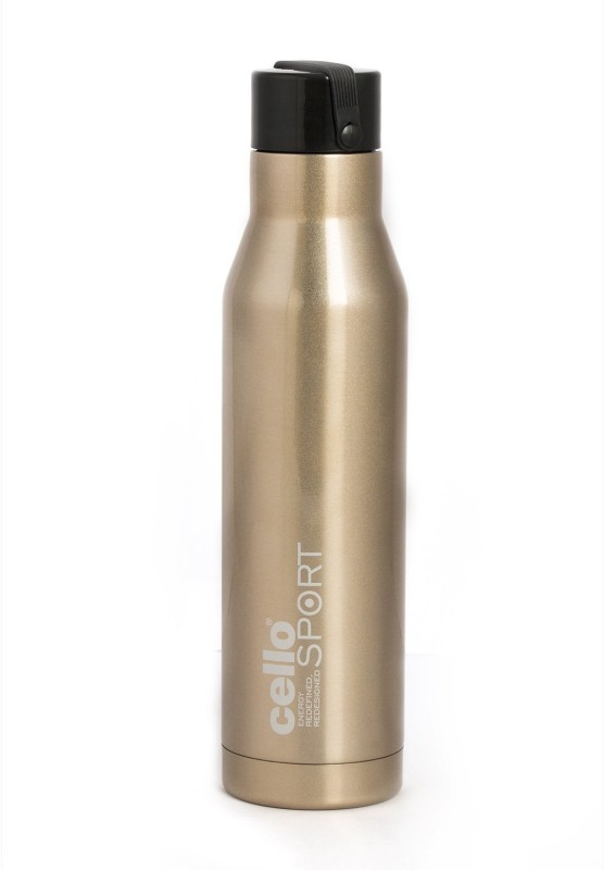 Cello S.S Meastro 550 ml Flask(Pack of 1, Gold)