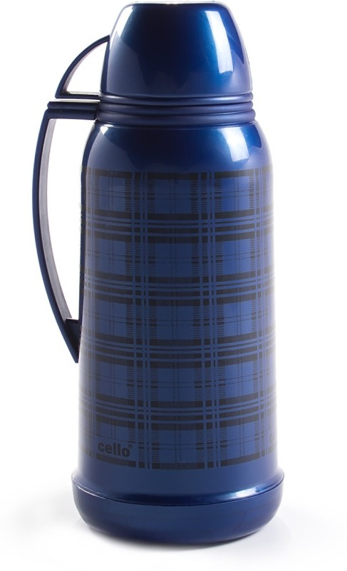 Cello Omega Vacuum 1800 ml Flask(Pack of 1, Blue)