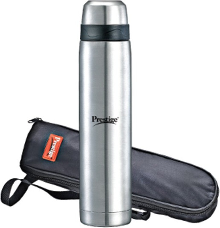 Prestige Thermopro with Carry Pouch 700 ml Flask(Pack of 1, Steel/Chrome)