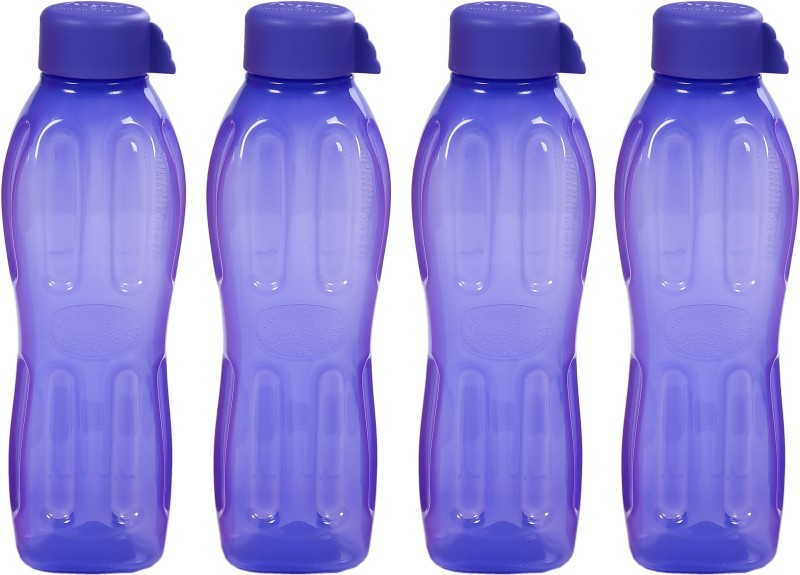 Signoraware Aqua Water 500 ml Bottle(Pack of 4, Blue)