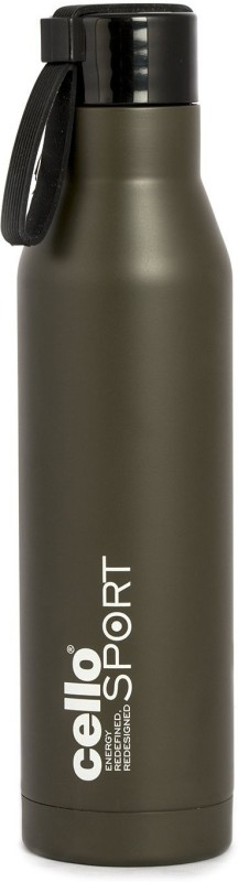 Cello S.S Meastro 550 ml Flask(Pack of 1, Grey)