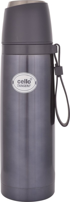 Cello Tangent 500 ml Flask(Pack of 1, Black)