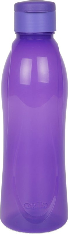 Cello Fresca Flip 1000 ml Bottle(Pack of 1, Purple, Beige)