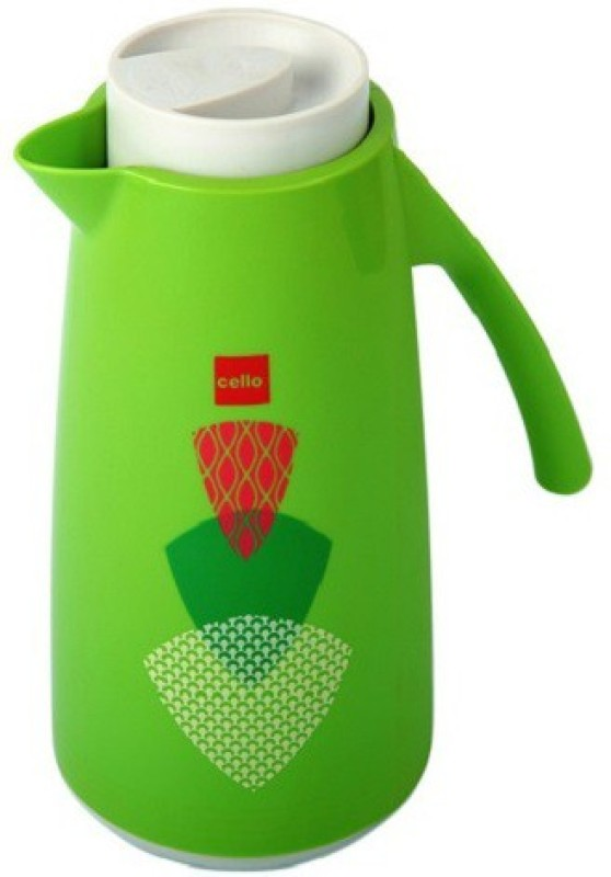 Cello Nebula 1000 ml Flask(Pack of 1, Green)