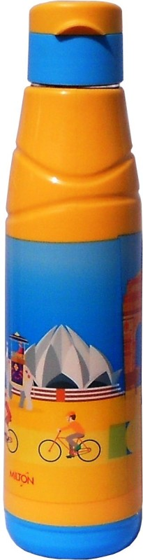 Milton Kool Fun 600 514 ml Bottle(Pack of 1, Yellow)
