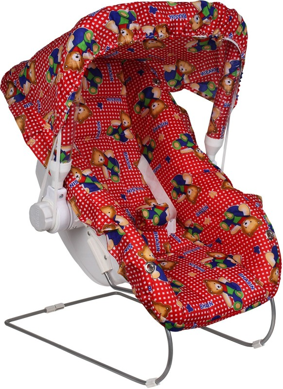 Abhiyantt Carry Cot Bouncer(Red, Blue, Pink)
