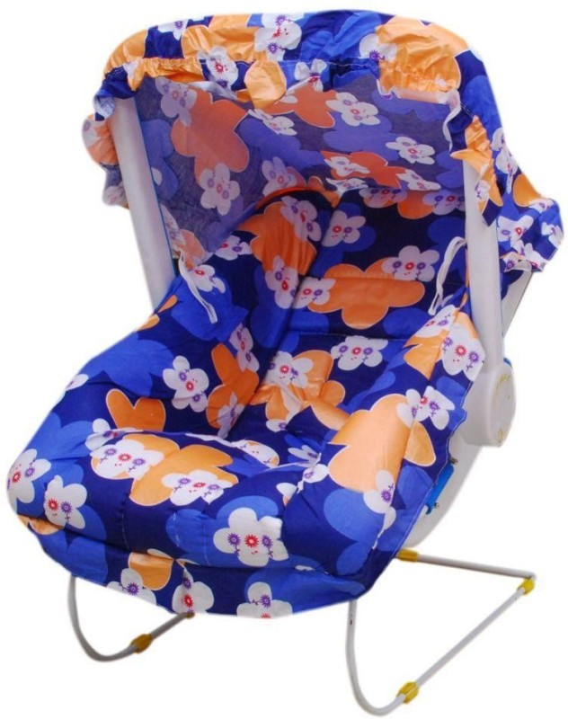 AAMAYA Blue Floral Print Bouncer Bouncer(Multicolor)