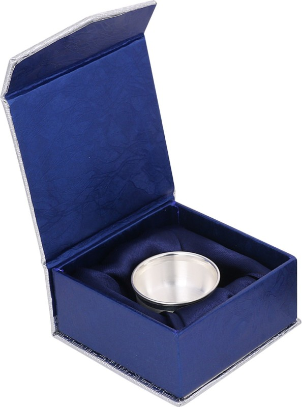 Osasbazaar Pure 99 Percent Fine 10ml BIS Hallmarked Silver Bowl(Silver, Pack of...