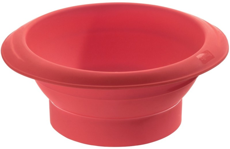 Lekue Silicone Bowl(Red, Pack of 1)