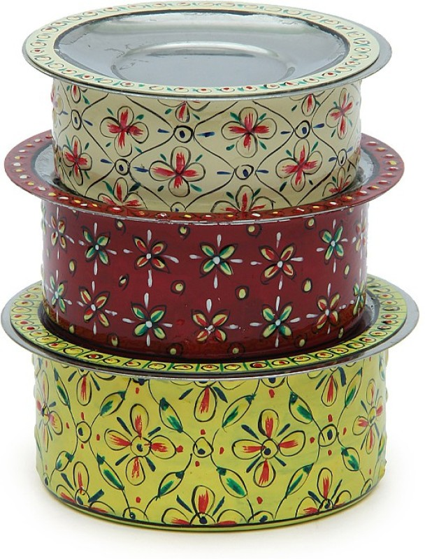 Kaushalam Kitchen Classic Stainless Steel Bowl Set(Multicolor, Pack of 3)
