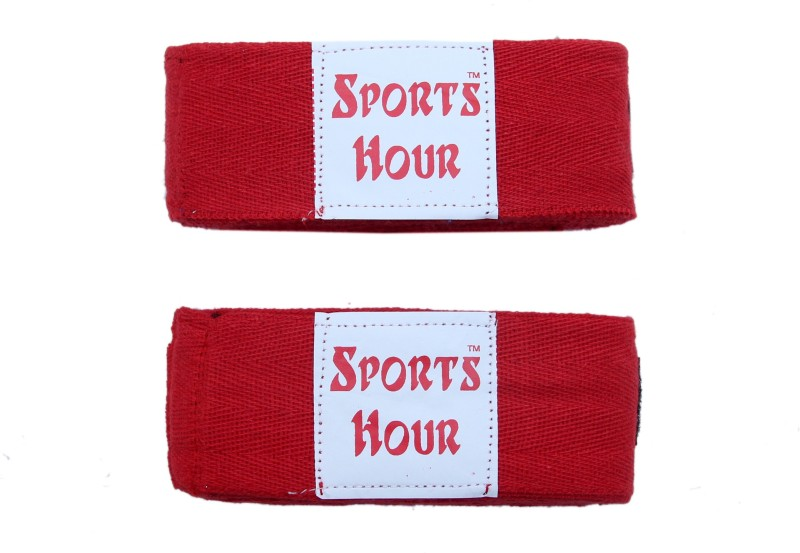Sportshour R-4.5M Red Boxing Hand Wrap(Red, 450 cm)