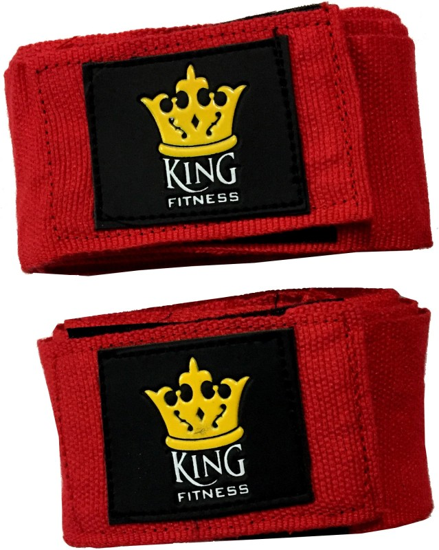 KING FITNESS XTREME PRO ULTIMATE 2.75 METERS SET OF 2 Pcs Red Boxing Hand Wrap(Red, 180 inch)
