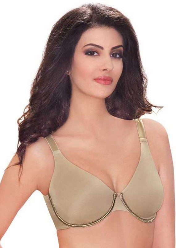 Amante Womens Full Coverage Lightly Padded Bra(Beige)