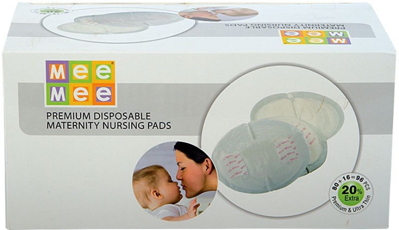 Mee Mee Premium Disposable Maternity Nursing Breast Pads(96 Pieces)