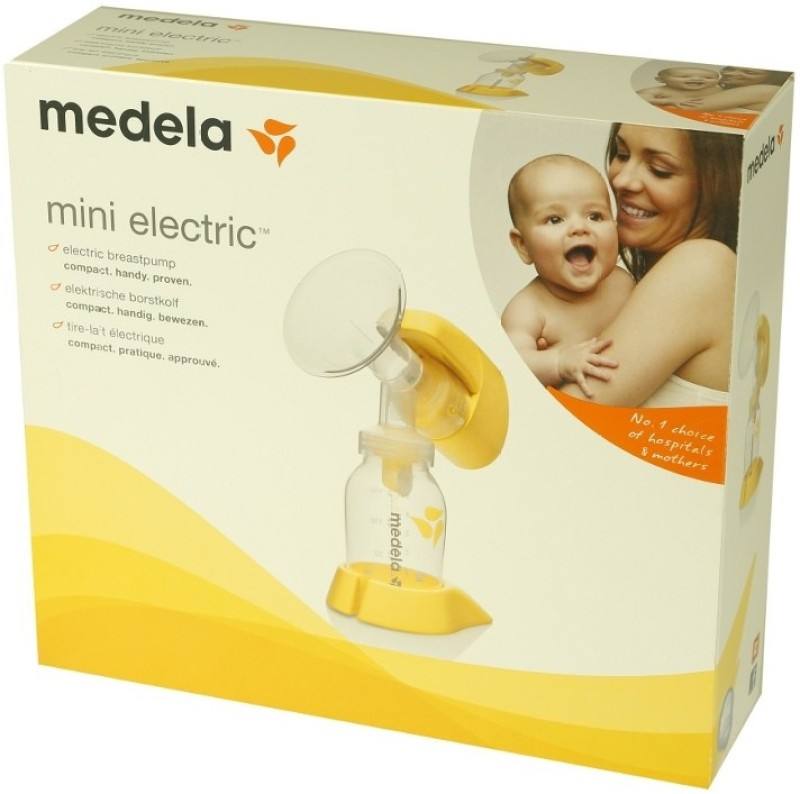 Medela Mini  - Electric(White, Yellow)