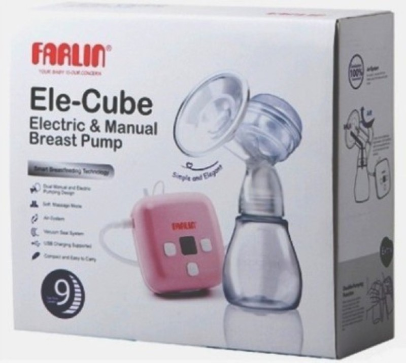 Farlin India's 1 Dual Breast Pump  - Electric(Pink)