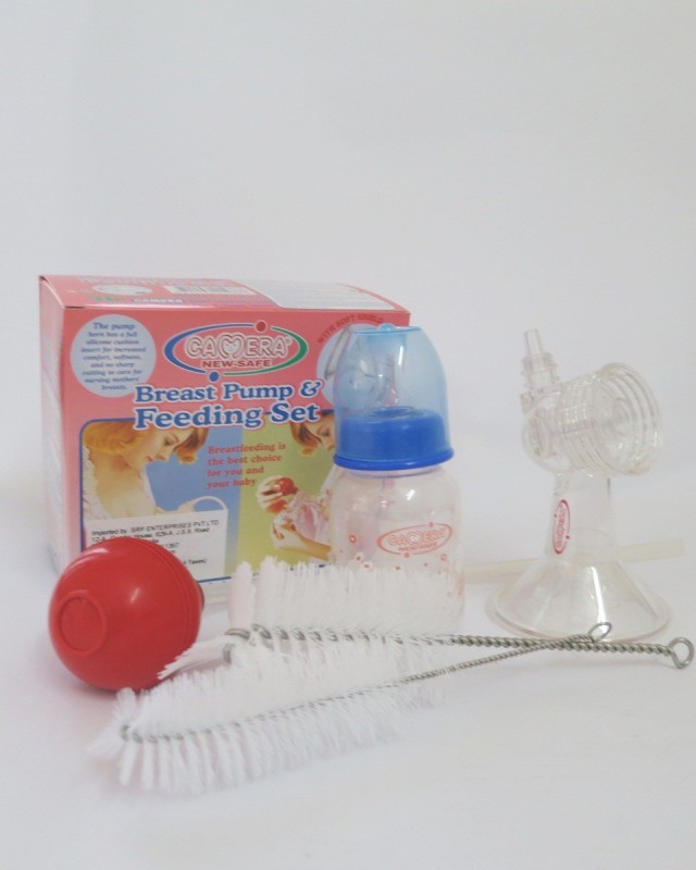 Camera Baby Corporation Camera Breast Pump  - Manual(Transparent)