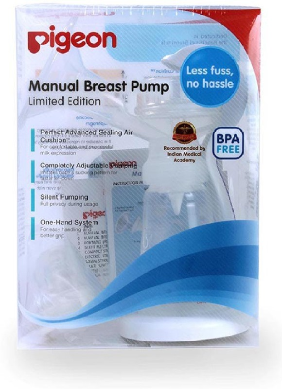 Pigeon Manual Breast Pump  - Manual(White)
