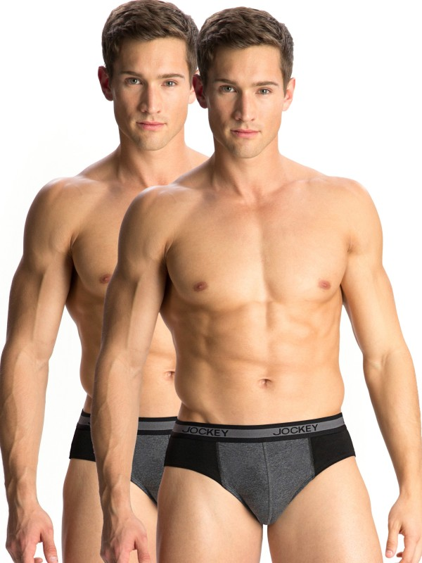 Jockey Men's Elance Brief(Pack of 2)