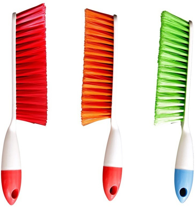FlyyyHigh Plastic Wet and Dry Brush(Multicolor, Pack of 3)