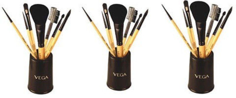 Vega Set Of Seven Make-up Brushes(Pack of 21)