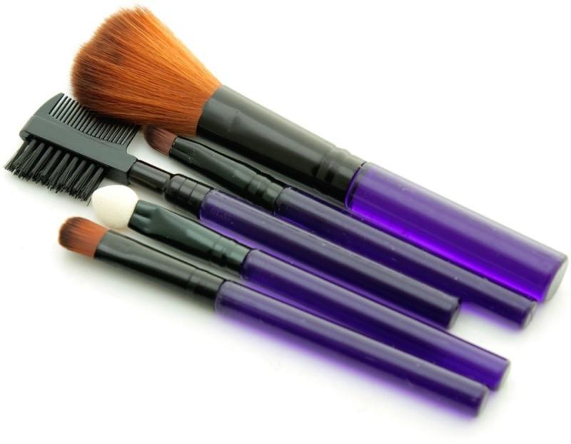 Foolzy Set of 5 Make Up Brush Set(Pack of 5)