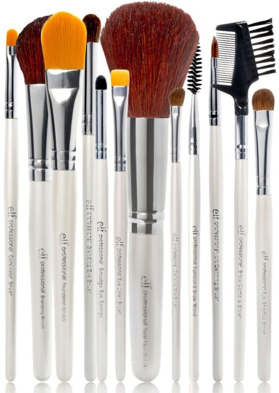 e.l.f Cosmetics Brush Set(Pack of 12)