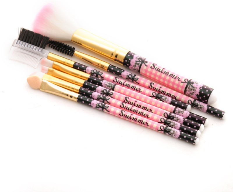 Foolzy Set of 7 Make Up Brush Set(Pack of 7)